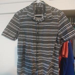 Guess button up men's shirt